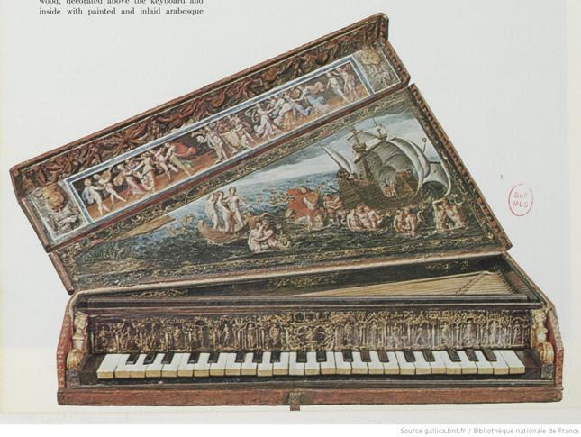 Ottavino ou épinette / facteur italien vers 1600