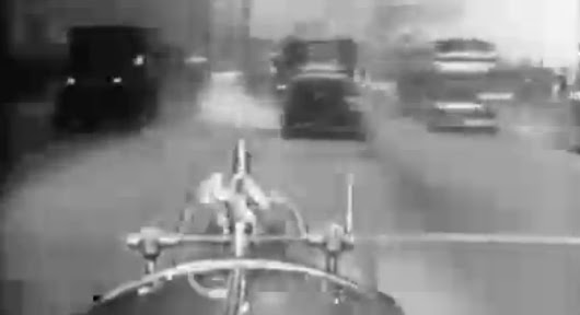 Ur-Dashcam: Ride Along With A 1920s Fire Chief Through New York City Mayhem