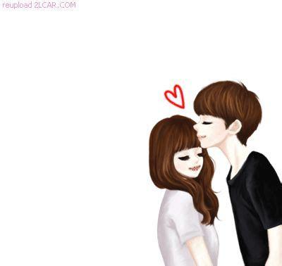 kartun animasi korea romantis cium kening asdsa