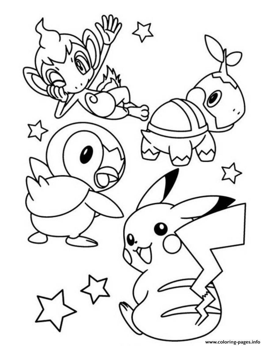 Mewarnai Gambar Pokemon Go Mewarnai J