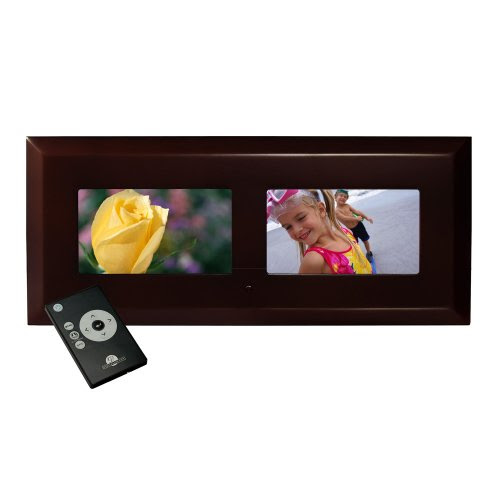 Digital Photo Frames Digital Décor Dual 7 Digital Photo Frame
