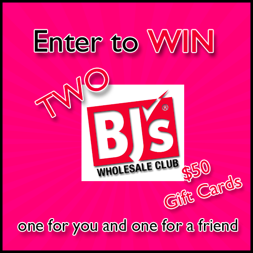 (2) $50 BJ's Wholesale Club gift cards (1 to keep and one to give a friend) - Coupon Savings In The South