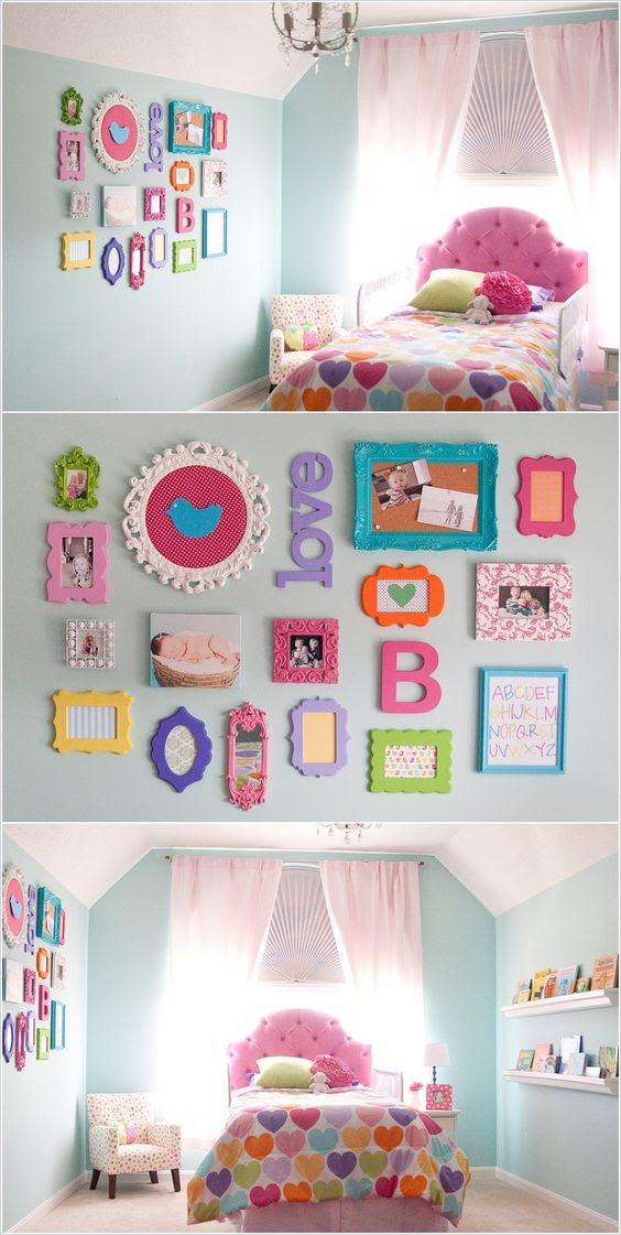 20+ Awesome DIY Projects To Decorate A Girl's Bedroom - Hative