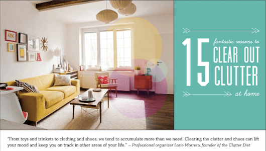 15 Reasons To Declutter Your Home