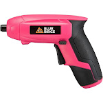Blue Ridge Tools Rechargeable Screwdriver Pink