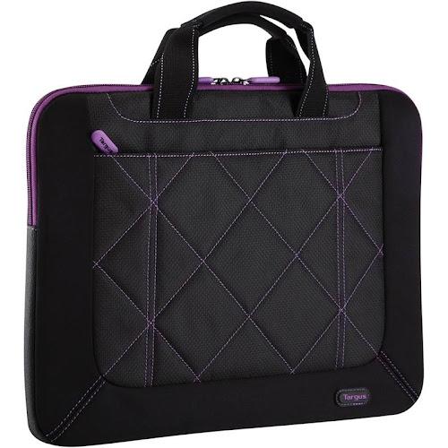 Targus TSS57401US Black/Purple Pulse Slipcase 16in