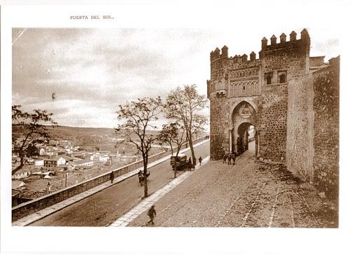 Puerta del Sol, Toledo.