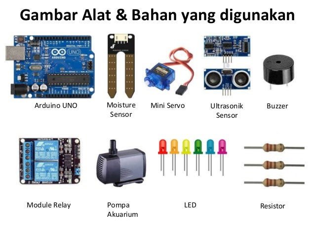Prototype Alat Penyiram Tanaman Otomatis dan Pengontrol ...