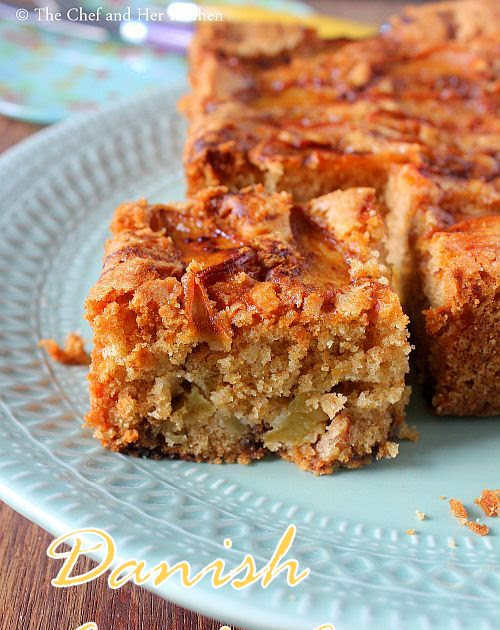 Danish Apple Cake Recipe | Easy Tea Cakes