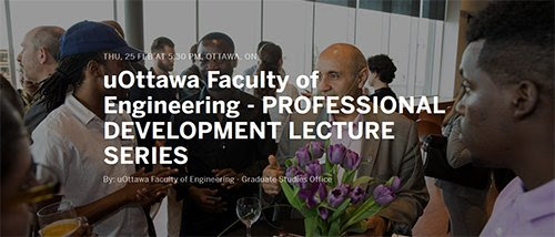 Online Personal Branding Workshop at uOttawa's Engineering & Science Professional Development Lecture Series (with images, tweets) · informatician