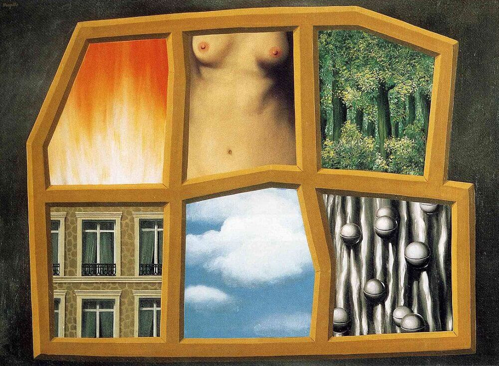 The Six Elements, 1928 by Rene Magritte