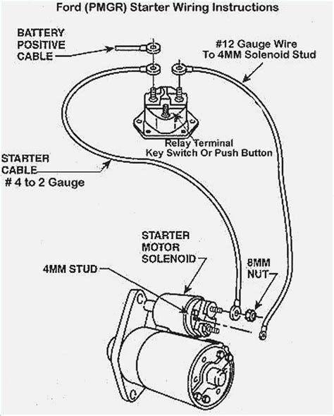 12 Volt Starter Wiring Diagram Gm