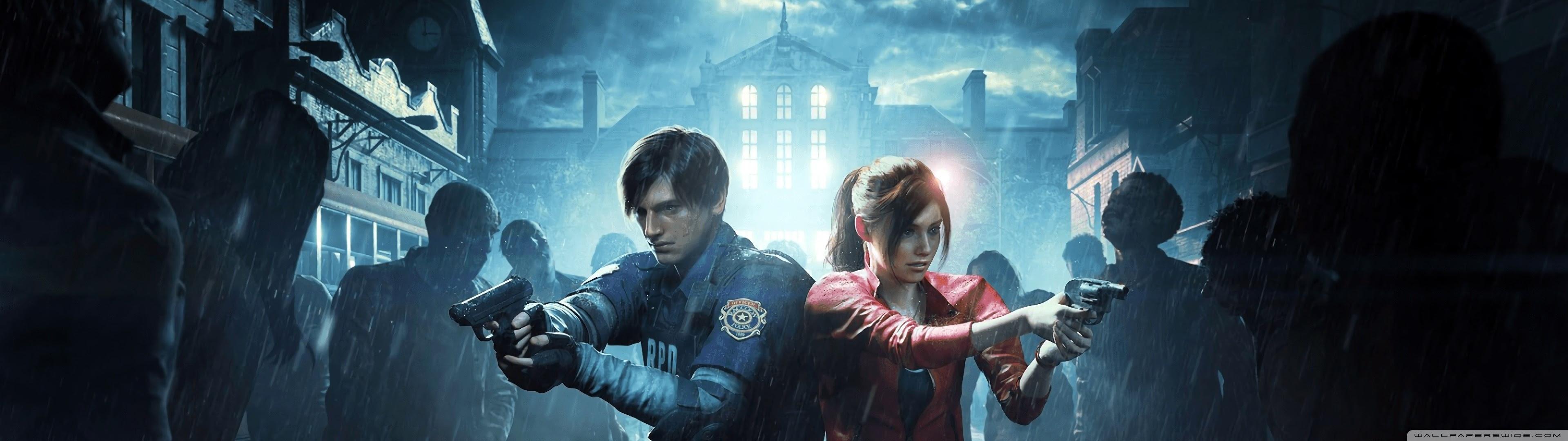 Resident Evil 2 2019 Video Game Ultra Hd Desktop Background