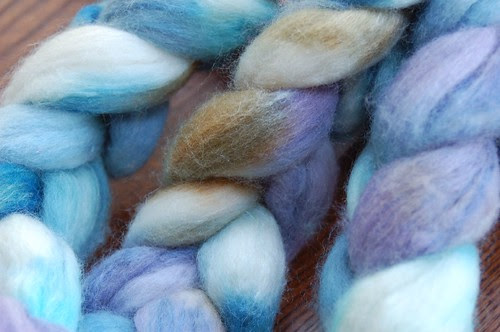 Roving by Snargle Handpaint