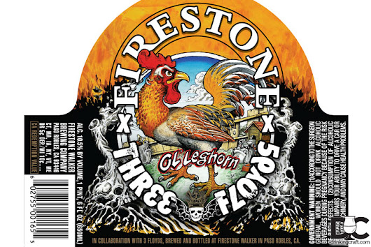 Firestone 3 Floyds Ol Leghorn Collaboration Details - DrinkingCraft.com | Doing Craft Beer Right