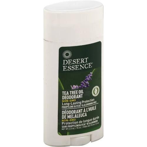 Desert Essence Tea Tree Oil Deodorant with Lavender Oil - 2.5 oz stick