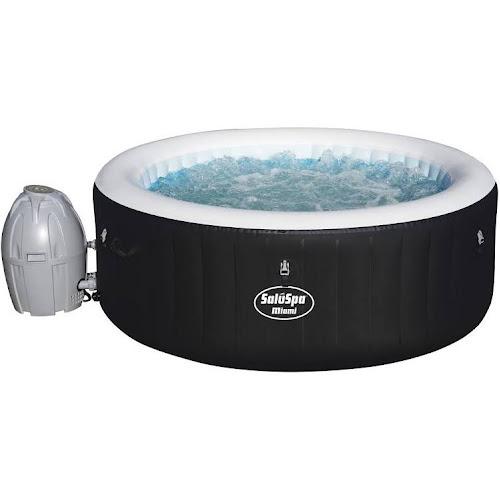 Saluspa Miami Portable Hot Tub, Black