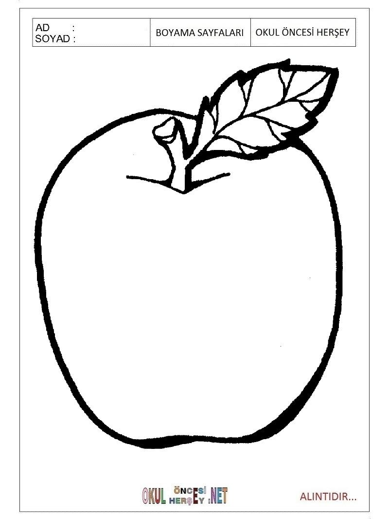 Elma Boyama Sayfaları