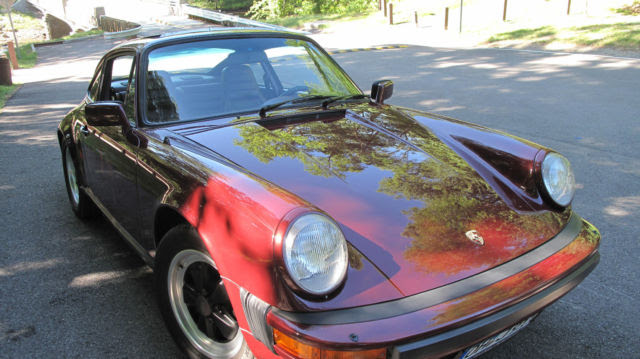 1983 Porsche 911 Sc Low Miles Excellent Condition Ruby Red W