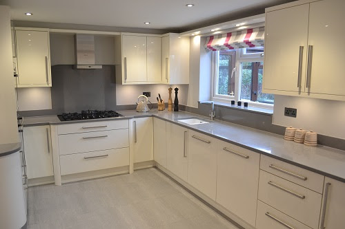 Pictures Of Cream Gloss Kitchens Home Decorating Ideas