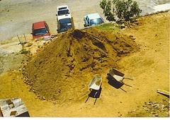 CT Castle Excavation - dirt