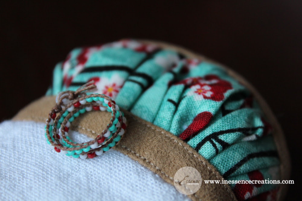inEssenceCreations - MiniFee Inset Top and Wrap Bracelet