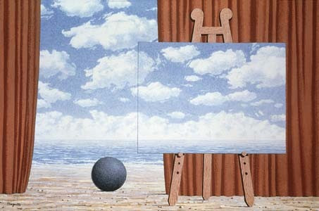 The fair captive, 1965 Rene Magritte
