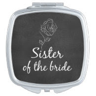 Sister of the Bride Vanity Mirrors