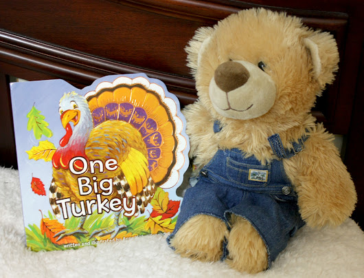 One Big Turkey ~ Children's Book Review and Giveaway (U.S.-9/12)