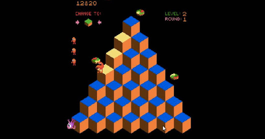 A video game-playing AI beat Q*bert in a way no one's ever seen before