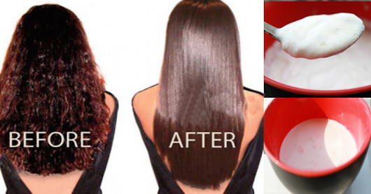 Make Your Hair Permanently Straight With These KITCHEN INGREDIENTS | Womans Vibe