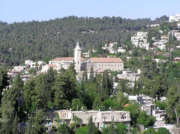 El Monasterio franciscano de San Juan Bautista en Ein Karem Jerusalén