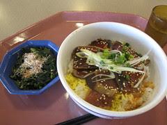 Grilled Katsuo rice set