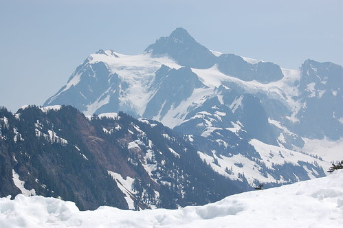SR 542 Mount Shuksan in View