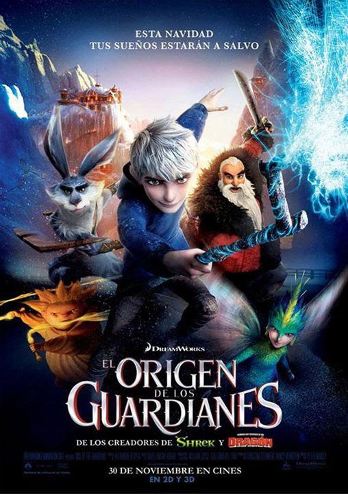 Resultado de imagen de el origen de los guardianes poster