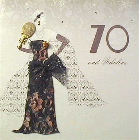 MojoLondon: 70 and Fabulous Birthday Card by Five Dollar Shake
