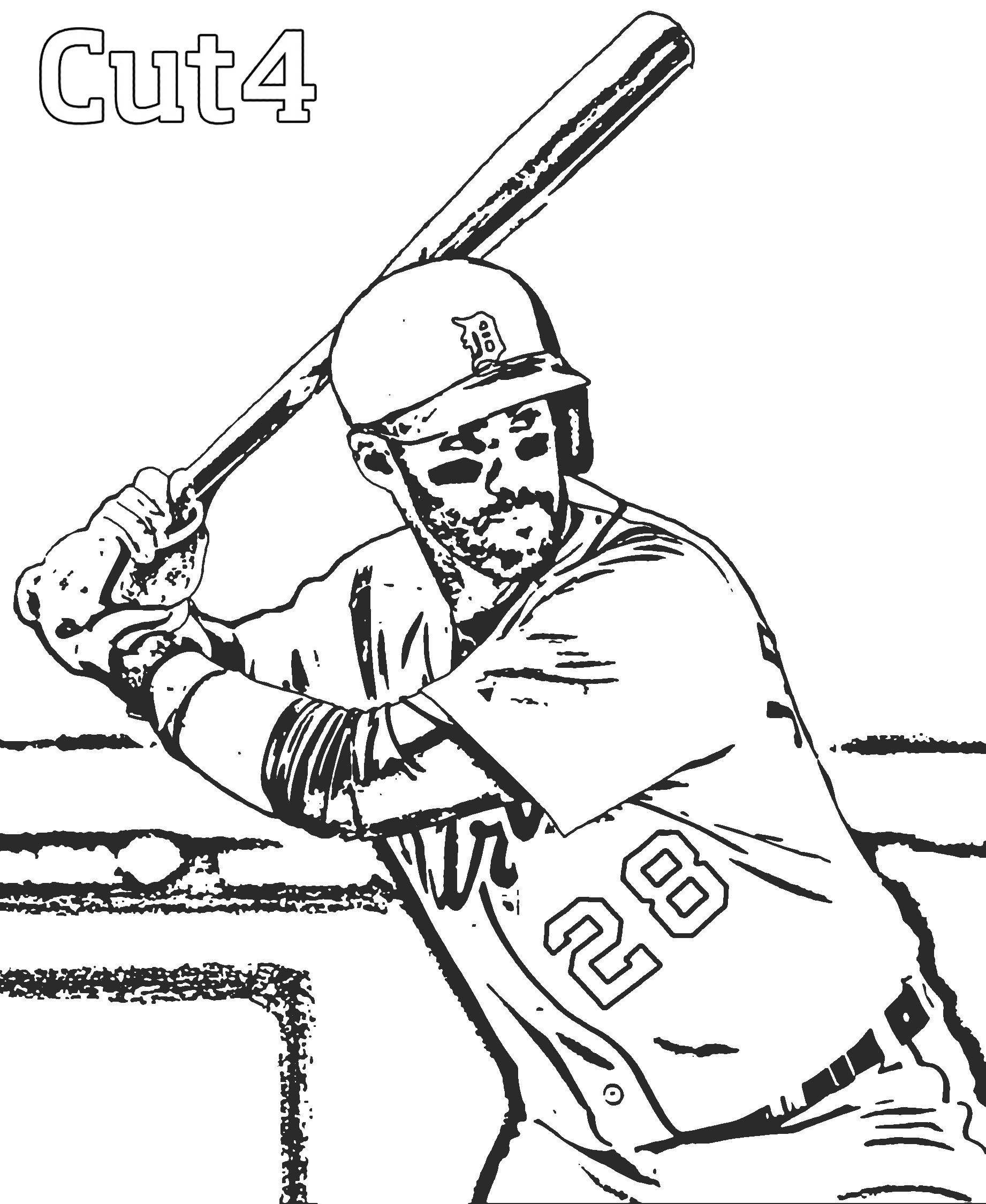 950 Top Coloring Pages Of Baseball Bat And Ball , Free HD Download