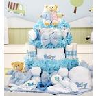 New Baby Boy Gift Basket Grand Essentials