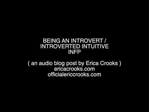 INFP / Introvert Audio Blog post