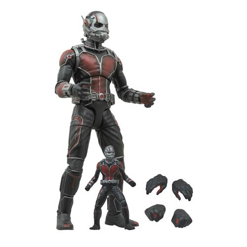 Preview of the upcoming Marvel Select Antman Action Figure