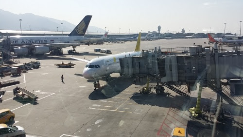 Royal Brunei Airlines の飛行機