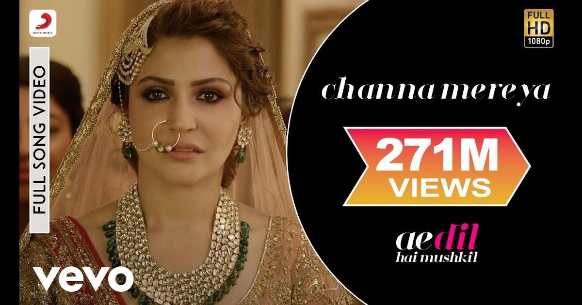 Entertainment Weekly Perfect Music Channa Mereya Full Song Video Ae Dil Hai Mushkil Ranbir Anushka Pritam Arijit