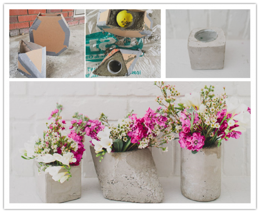 How To Make Cement Centerpieces | How To Instructions