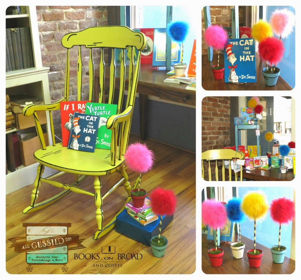 Illustrated 3d Rocking Chair Chalk Painted Furniture Flip