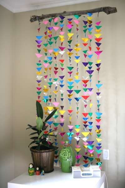 21 Extraordinary Smart DIY Paper Wall Decor That Will Color Your Life homesthetics design 5 20 Extraordinary Smart DIY Paper Wall Decor [Free Template Included]