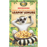 Envirokidz Leapin' Lemurs Cereal - Peanut Butter And Chocolate - 10 Oz - Pack of 12