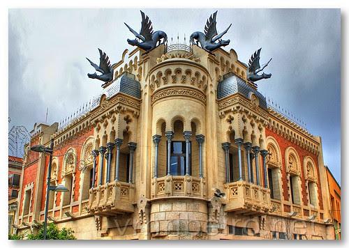 Edifício em Ceuta by VRfoto