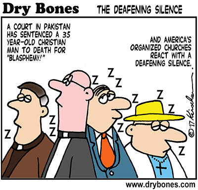 Dry Bones cartoon,Amazon, Dry Bones cartoons Fight Back, Book, Pakistan, Christians, blasphemy,