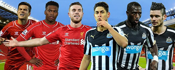 Image result for Liverpool vs Newcastle