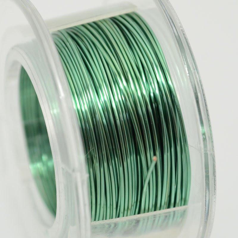 s39993 Para Wire - 24 gauge Round Wire - Seafoam (10 yards)